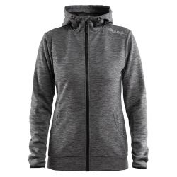 Naisten leisure full zip huppari